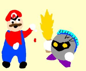Mario Vs. Meta Knight