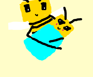 baby minecraft bee