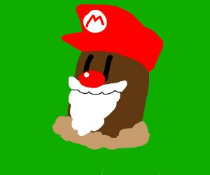 Santa, Diglett, and Mario Fusion
