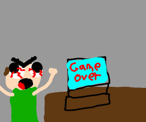 local man terribly upset that he game over'd