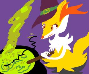 Braixen Witch (Pokémon)