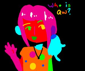 who is qw?????????????????? in many colours