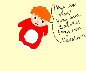 ponyo loves revolvtion