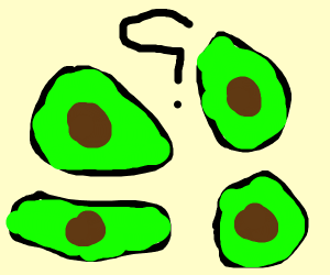 four avocadoes???