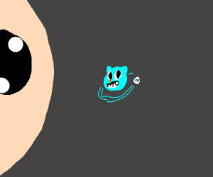 Gumball Earth, Sans moon, Isaac sun