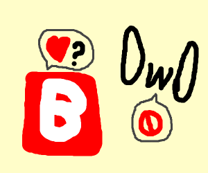"""Emoji """"B"""" is rejected by OwO"""