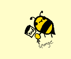Bee cleaning French Toast