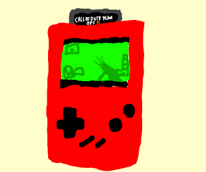 Game Boy playing Black Ops II