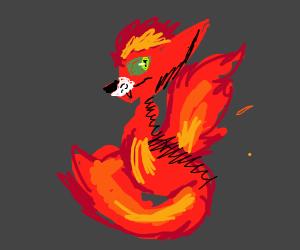 Cool looking fire fox