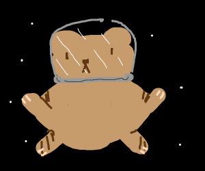 Space hampster