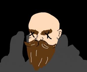 Dead dwarf man