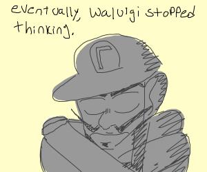 Eventually waluigi stopped thinking