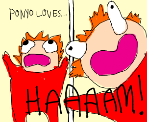 ponyo it's hot Haaam!!