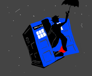 Mary Poppins in the show Doctor Who