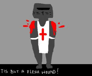 Just A Battle Wound