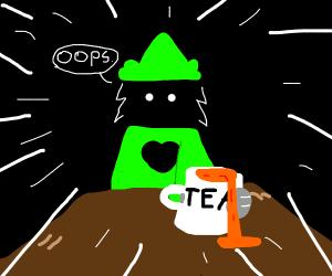 Raseli spills the tea
