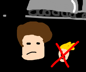 Bob ross displeased with your jazza derail