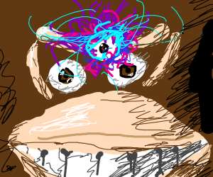 DK's third eye is WIDE open