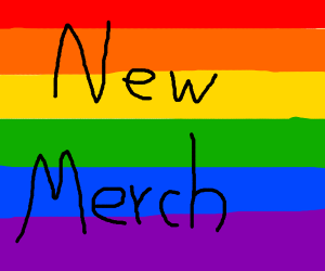 New Drawception LGBTQ+ Merch !