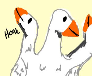 triple head goose