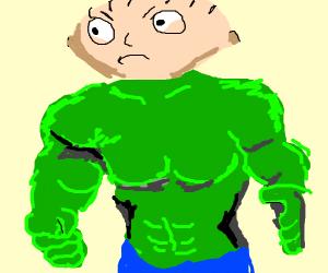 the hulk plus stewie griffin