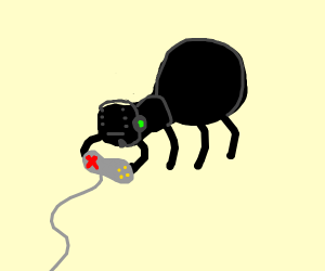 Gamer spider