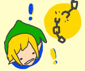 Link but also a broken chain link