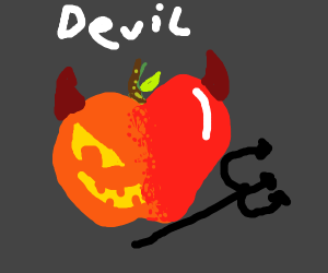 Pumpkin Apple Fusion is devil
