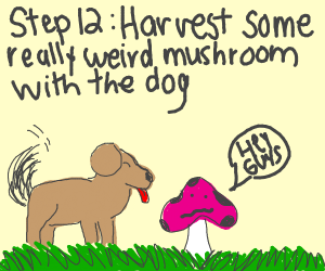 Step 11: Prepare the dog for the harvest