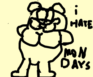 thicc Garfield