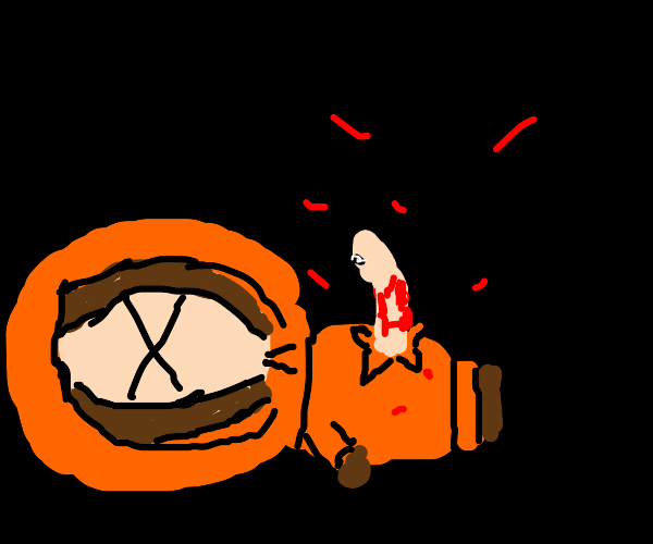 Oh no! An alien killed Kenny!