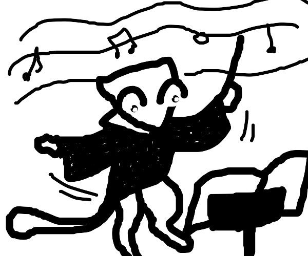 Mew the orchestra conductor