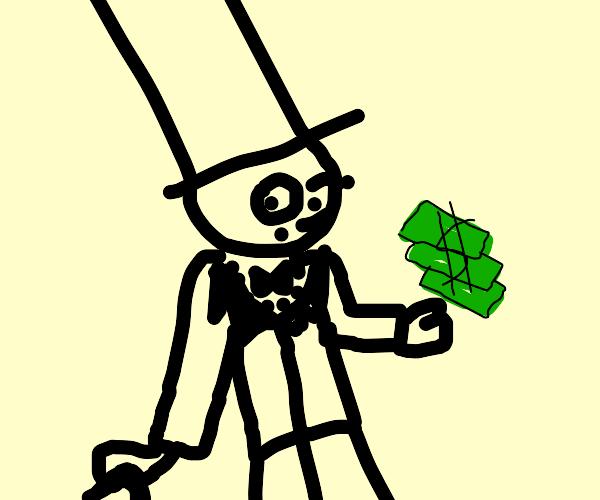 Derp fancy man