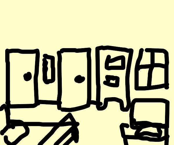 Draw your room PIO