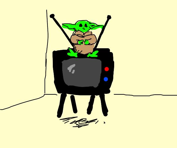 baby yoda on tv
