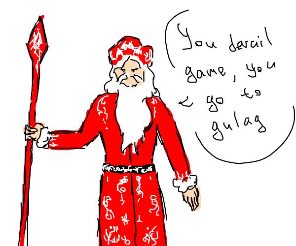 Santa hates derails