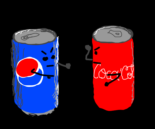 pepsi faces off against coke