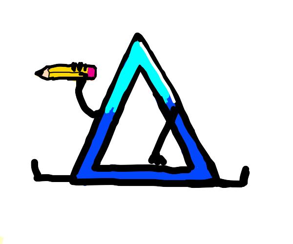 Drawception D becomes a triangle!