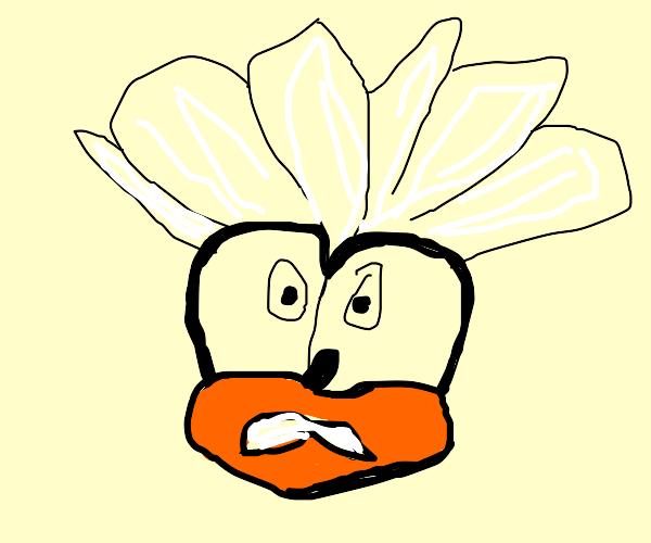 Humanoid Silver the Hedgehog depressed