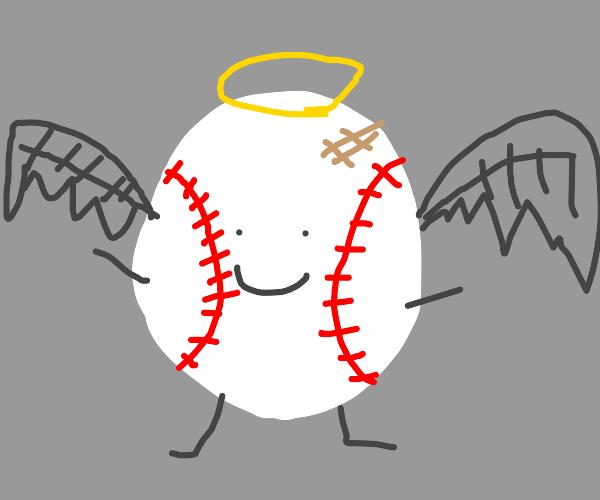 Winged baseball