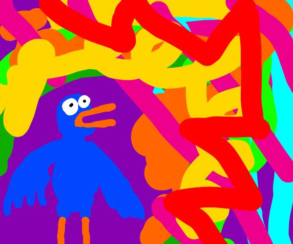 Bird on LSD