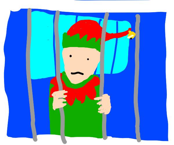 Imprisoned elf boy?