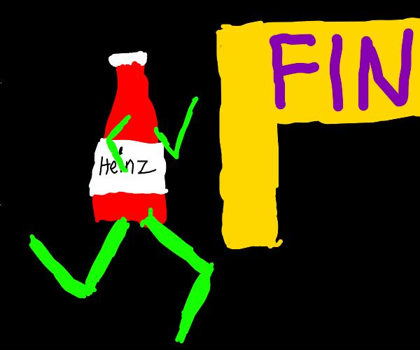Running ketchup