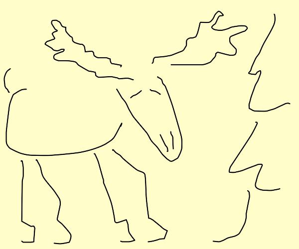 Abstract Elk