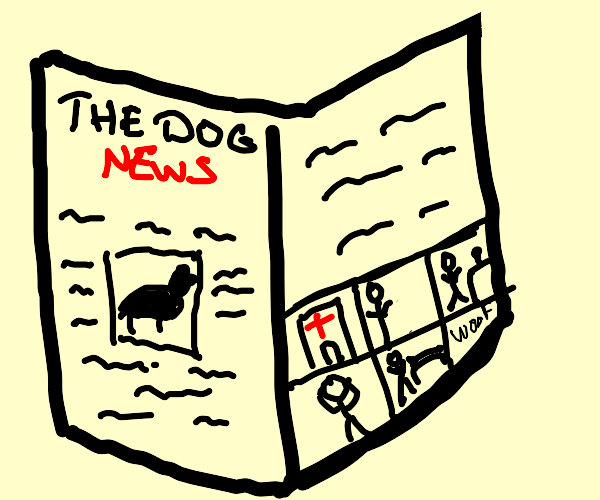 comic strip of dog hospital