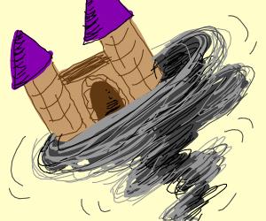 Castle on a tornado