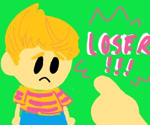 lucas (mother 3) is a LOSERRR
