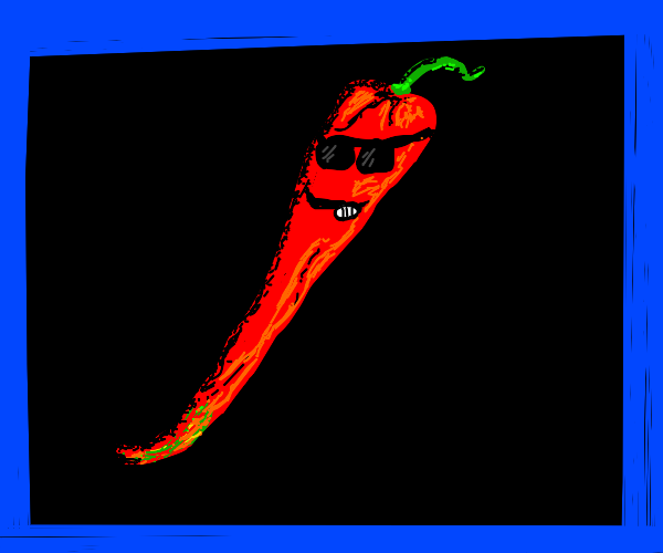 Cool chilli pepper