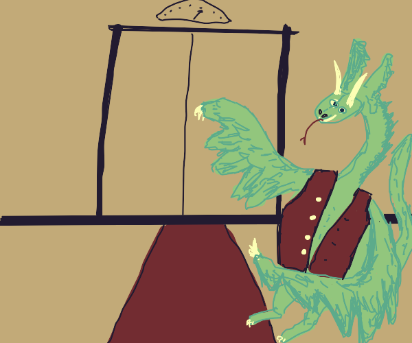 Dragon invites you to their hotel