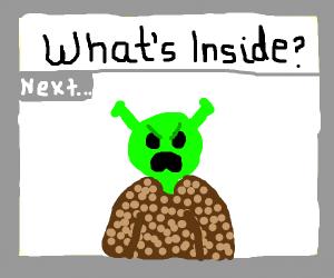 """Next up on """"what's inside?""""...: SHREK!"""